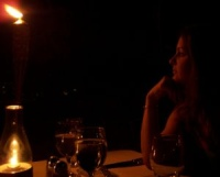 Candle Light Dinner an der Ostsee