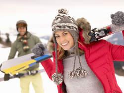 Ski fahren Wellnessurlaub